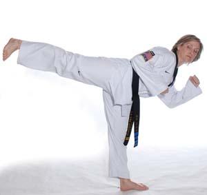 Taekwondo Back Kick